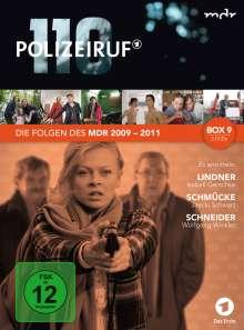 Polizeiruf 110 - MDR Box 9, 3 DVDs