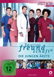 In aller Freundschaft - Die jungen Ärzte Staffel 3 (Folgen 85-105), 7 DVDs