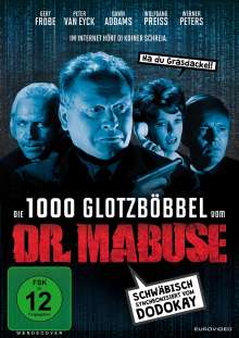 Die 1000 Glotzböbbel vom Dr. Mabuse, DVD