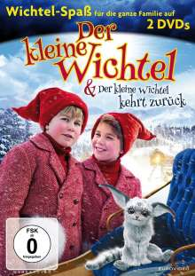 Der kleine Wichtel / Der kleine Wichtel kehrt zurück, 2 DVDs