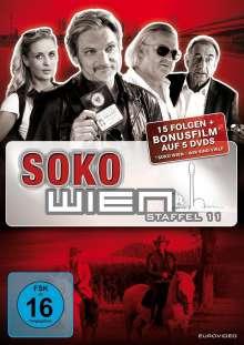 SOKO Wien Staffel 11, 4 DVDs