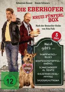 Die Eberhofer Kruzifünferl Box, 5 DVDs