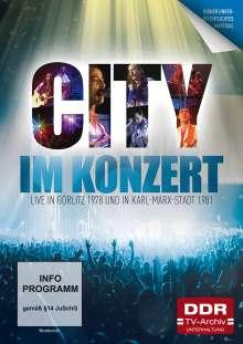 Im Konzert: City - Live in Görlitz 1978 und Karl-Marx Stadt 1981, DVD