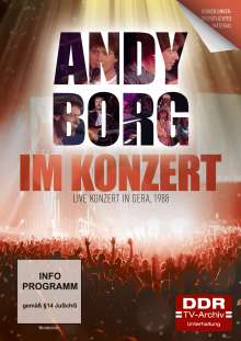 Im Konzert: Andy Borg - Live Konzert in Gera 1988, DVD