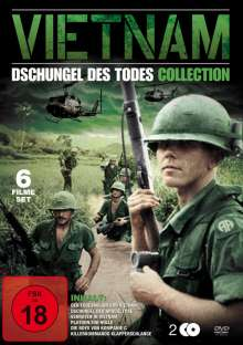 Vietnam Collection - Dschungel des Todes (6 Filme auf 2 DVDs), 2 DVDs