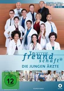 In aller Freundschaft - Die jungen Ärzte Staffel 2 (Folgen 43-63), 7 DVDs