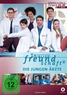 In aller Freundschaft - Die jungen Ärzte Staffel 2 (Folgen 64-84), 7 DVDs