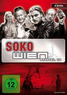 SOKO Wien Staffel 10, 4 DVDs