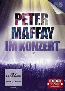Im Konzert: Peter Maffay 1987, DVD