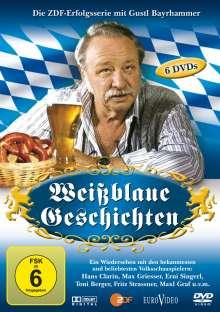 Weißblaue Geschichten Box 1, 6 DVDs