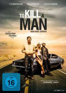 To Kill A Man (2016), DVD