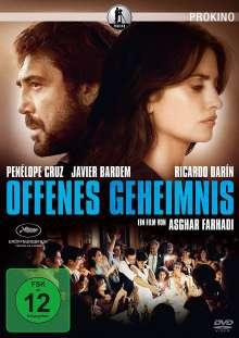 Offenes Geheimnis, DVD