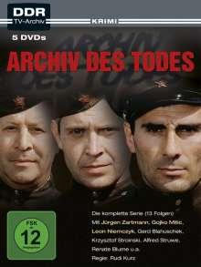 Archiv des Todes, 5 DVDs
