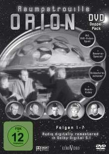 Raumpatrouille Orion 1-7, 2 DVDs