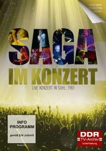 Im Konzert: Saga - Live Konzert in Suhl 1983, DVD