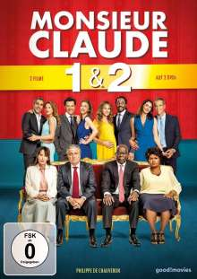 Monsieur Claude 1 & 2, 2 DVDs