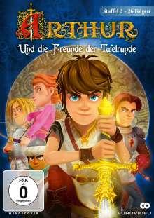 Arthur und die Freunde der Tafelrunde Staffel 2, 2 DVDs