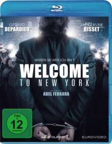 Welcome to New York (Blu-ray), Blu-ray Disc
