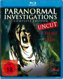 Paranormal Investigations (9 Filme auf 3 Blu-rays), 3 Blu-ray Discs