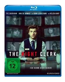 The Night Clerk (Blu-ray), Blu-ray Disc