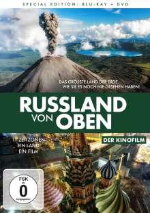 Russland von oben - Der Kinofilm (Blu-ray & DVD), 1 Blu-ray Disc und 1 DVD
