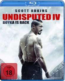 Undisputed IV - Boyka Is Back (Blu-ray), Blu-ray Disc