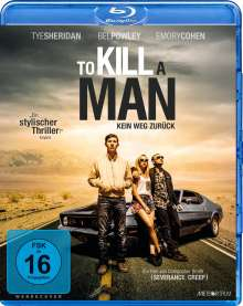 To Kill A Man (2016) (Blu-ray), Blu-ray Disc