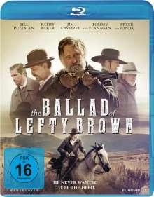 The Ballad of Lefty Brown (Blu-ray), Blu-ray Disc