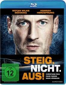 Steig. Nicht. Aus! (Blu-ray), Blu-ray Disc