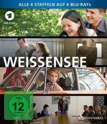 Weissensee Staffel 1-4 (Blu-ray), 4 Blu-ray Discs