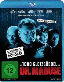 Die 1000 Glotzböbbel vom Dr. Mabuse (Blu-ray), Blu-ray Disc