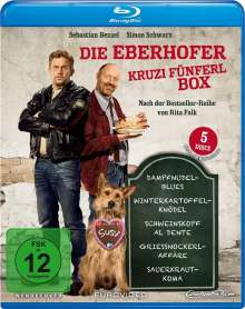 Die Eberhofer Kruzifünferl Box (Blu-ray), 5 Blu-ray Discs