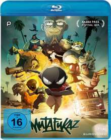 Mutafukaz (Limited Edition) (Blu-ray in Hardcover Capbox), 2 Blu-ray Discs und 1 CD