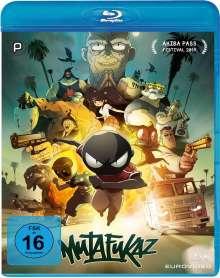 Mutafukaz (Blu-ray), Blu-ray Disc