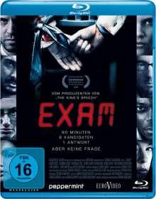 Exam (Blu-ray), Blu-ray Disc