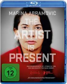 Marina Abramovic - The Artist Is Present (OmU) (Blu-ray), Blu-ray Disc