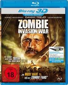 Zombie Invasion War (3D Blu-ray), Blu-ray Disc