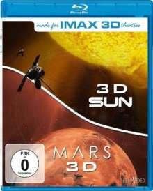 IMAX: Sun 3D/Mars 3D (3D Blu-ray), Blu-ray Disc