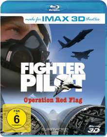 IMAX: Fighter Pilot (3D Blu-ray), Blu-ray Disc