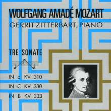 Wolfgang Amadeus Mozart (1756-1791): Klaviersonaten Nr.8,10,13, CD