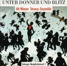 Unter Donner und Blitz, CD