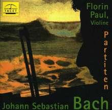 Johann Sebastian Bach (1685-1750): Partiten für Violine BWV 1002,1004,1006, CD