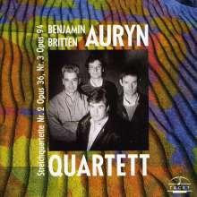 Benjamin Britten (1913-1976): Streichquartette Nr.2 & 3, CD