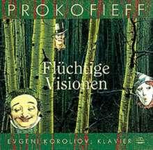 Serge Prokofieff (1891-1953): Visions fugitives op.22, CD