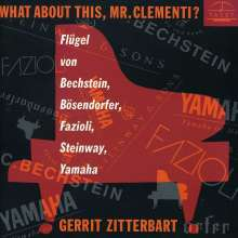 G.Zitterbart - What about this,Mr.Clementi?, CD