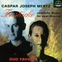 Johann Kaspar Mertz (1806-1856): Gitarrenwerke, CD