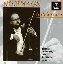 Hartmut Lindemann - Hommage a Primrose, CD