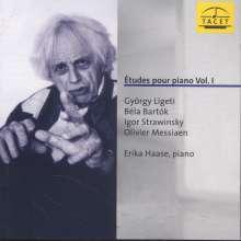 Erika Haase - Etudes pour piano Vol.1, CD