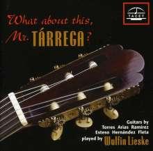 Wulfin Lieske - What about this,Mr.Tarrega?, CD