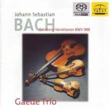 Johann Sebastian Bach (1685-1750): Goldberg-Variationen BWV 988 für Streichtrio, SACD